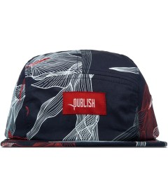 Publish Navy Digital Floral 5-Panel Camper Cap Picutre