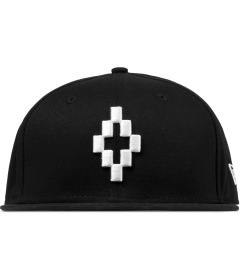 Marcelo Burlon Black Cross W 9Fifty Snapback Cap Picutre