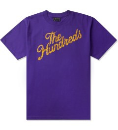 The Hundreds Purple Giraffe Slant T-Shirt Picutre