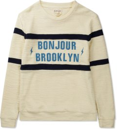 BWGH Ecru Bonjour Brooklyn Sweater Picutre