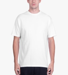 BEENTRILL White Stacked S/S T-Shirt Model Picutre