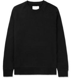 Matthew Miller Black Rouge Zip Sweater Picutre