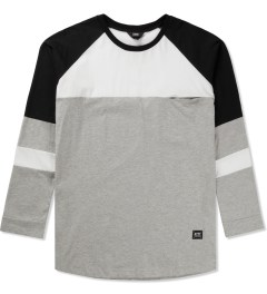 Thing Thing Grey/Black/White Domi L/S T-Shirt Picutre