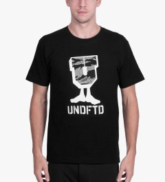 Undefeated Black Camo U-Man T-Shirt Model Picutre