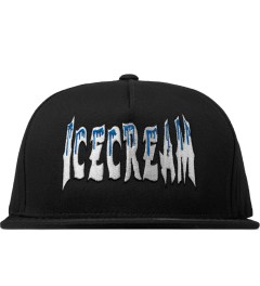 ICECREAM Black Cold Ice Logo Cap Picutre