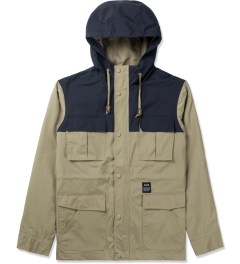 HUF Tan The Summit Jacket Picutre