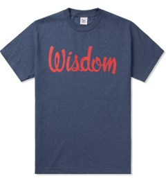 Acapulco Gold Heather Blue Wisdom T-Shirt Picutre