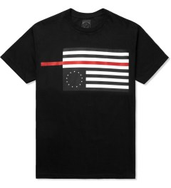 Black Scale Black Rebel Red Flag T-Shirt Picutre