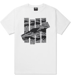 Undefeated White Large Camo Strike T-Shirt Picutre