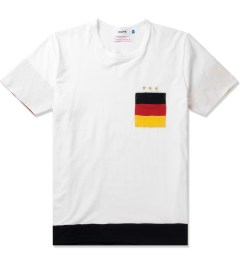 Aloye Aloye x WONG WONG White/Black Germany Color Blocked S/S T-Shirt Picutre
