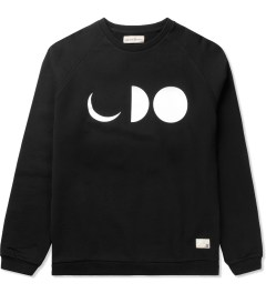 Libertine-Libertine Black/White Grill Half-Moon Sweatshirt Picutre