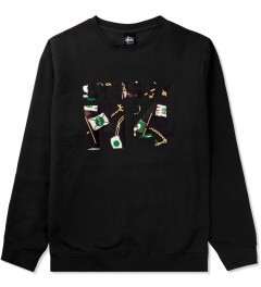 Stussy Black Flags No.4 Sweater Picutre