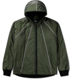 Christopher Raeburn Olive Filled Hoodie Picutre
