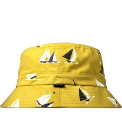 Odd Future Gold Sinking Boat Bucket Hat Model Picutre