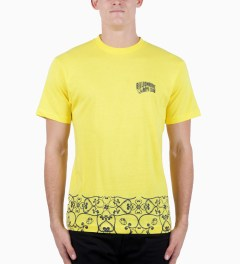 Billionaire Boys Club Solar Yellow S/S Kobo Low T-Shirt Model Picutre