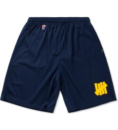 Undefeated Navy Strike Basketball Shorts Picutre