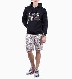 Stussy Black Rich Cat 10.5 Trunk Model Picutre