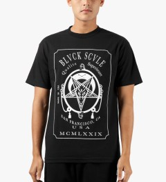 Black Scale Black Qualite Superieure T-Shirt Model Picutre