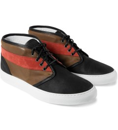 Diemme Brown/Tan Zelarino Chukka Shoes Model Picutre