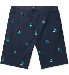 Stussy Dark Navy Catamaran Short Picutre