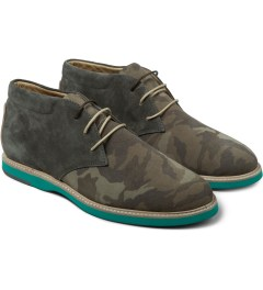 Thorocraft Camo/Slate Harloe Shoes Model Picutre
