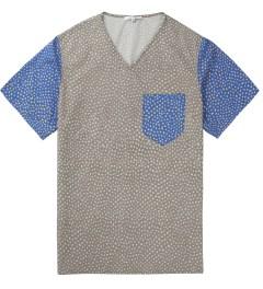Carven Grey printed Poplin T-Shirt Picutre