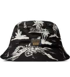 10.Deep Black Thompson Fisherman Bucket Hat Picutre