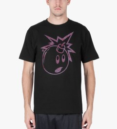 The Hundreds Black Magic Eye Adam T-Shirt Model Picutre