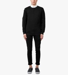 Soulland Black Netskar Sweater Model Picutre