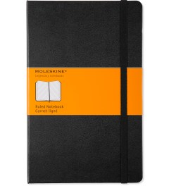 MOLESKINE Black Ruled Large Notebook Picutre