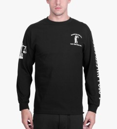 BEENTRILL Black Injustice L/S T-Shirt Model Picutre