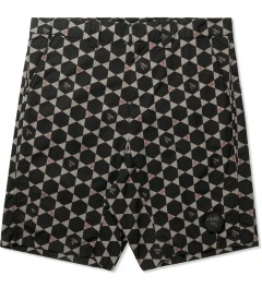 JohnUNDERCOVER Black/Charcoal Geometric Shorts Picutre