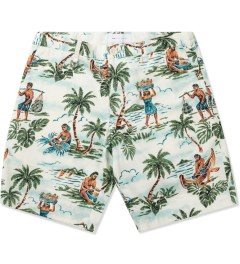 Liful Ivory Hawaiian Life Shorts Picutre