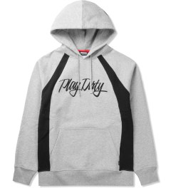 Undefeated Grey Heather Ring Pullover Hoodie Picutre