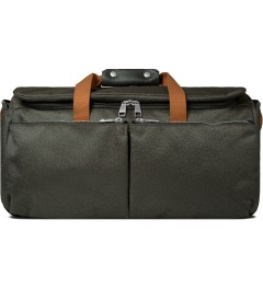 ULTRAOLIVE Grey/Rust Pebble Duffle Bag Picutre