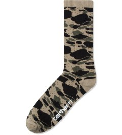 Carhartt WORK IN PROGRESS Camo Isle Dots Gilbert Socks Picutre