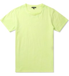 Surface to Air Fluorescent Yellow Washed Out T-Shirt Picutre