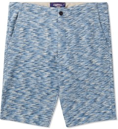 Lightning Bolt Azure Blue Mirror Essential Sweatshorts Picutre