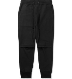 Drifter Black Cade Pleated Pants Picutre