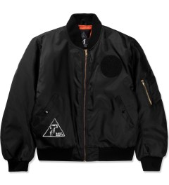 A Cut Above Black Pyramid MA-1 Jacket Picutre