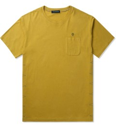 JohnUNDERCOVER Mustard Side Stitch S/S Pocket T-Shirt Picutre