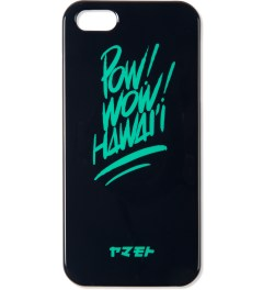 POW! WOW! Green on Black Yamamoto Industries x POW! WOW! Hawaii iPhone 5 Case Picutre