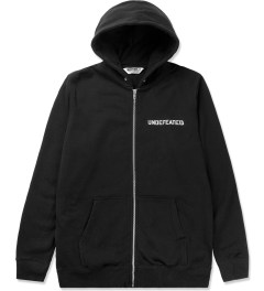 Undefeated Black Block Basic Zip Hoodie Picutre
