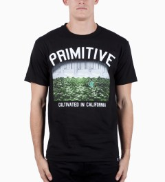 Primitive Black Garden T-Shirt Model Picutre