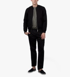 A.P.C. Black Croft II Jacket Model Picutre