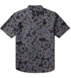 Stussy Black Gold Flake Shirt Picutre