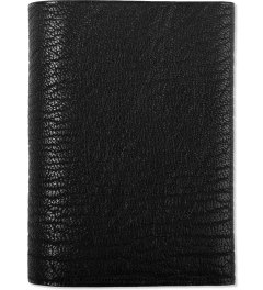 POSTALCO Black Geology Goatskin Card & Coin Wallet Picutre