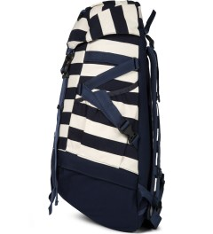 CASH CA Navy Border CASH CA x ximmun. 40L Backpack Model Picutre