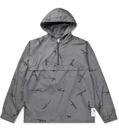 Mark McNairy for Heather Grey Wall Grey AK47 Pullover Jacket Picutre