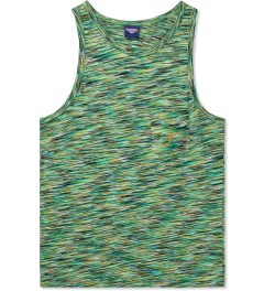 Lightning Bolt Ice Green Mirror Essential Pocket Tank Top Picutre